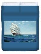 Ship Waimate Duvet Cover