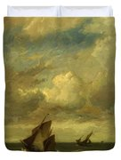 Shipping In A Breeze Duvet Cover