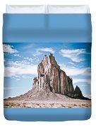 Shiprock #12 Duvet Cover