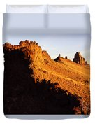 Shiprock New Mexico 2 Duvet Cover