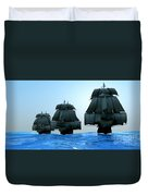 Ships In Sail Duvet Cover