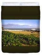 Shipwreck Beach Duvet Cover