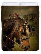 Shire Horse Duvet Cover