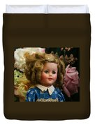 Shirley Temple Doll Duvet Cover