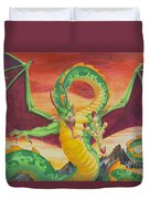 Shivan Dragon 3.0 Duvet Cover