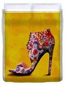 Shoe Illustration 1 Duvet Cover