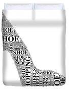 Shoe Shopping Duvet Cover