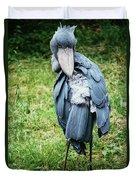 Shoebill Duvet Cover