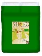 Shoeless Joe Jackson Duvet Cover