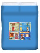 Shopfronts Galway Duvet Cover
