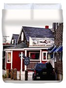 Shopping In Perkins Cove Maine Duvet Cover