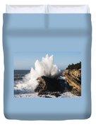 Shore Acres Waves 1 Duvet Cover