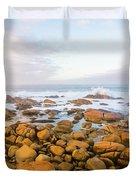 Shore Calm Morning Duvet Cover