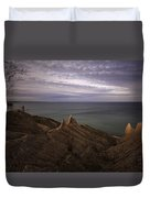 Shoreline Sentries Duvet Cover