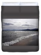 Shores Of King's Beach Lake Tahoe Duvet Cover