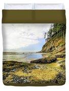 Short Sands Beach, Oregon Duvet Cover