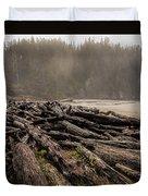 Short Sands Log Slash Duvet Cover