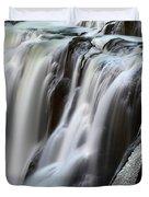 Shoshone Falls Close Up Duvet Cover