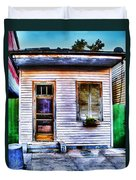 Shotgun House Number 3 Duvet Cover