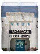 Show Tonight Amargosa Opera House Duvet Cover