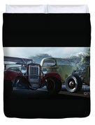 Showdown Duvet Cover