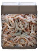 Shrimp Mess Duvet Cover