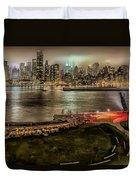 Shrouded City 5255 Duvet Cover