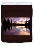 Shrouded In Clouds Duvet Cover