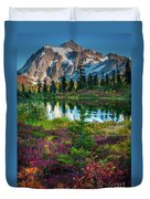 Shuksan Autumn Duvet Cover