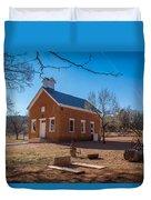 Shumway School House Duvet Cover
