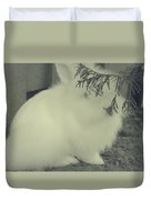 Shy Bunny Duvet Cover