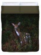 Shy Fallow Deer 4 Duvet Cover