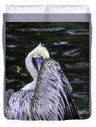 Shy Pelican Duvet Cover