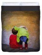 Sibling Love Duvet Cover