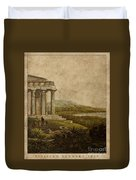 Sicilian Scenery 1823 Duvet Cover