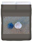Side By Side Shells Duvet Cover