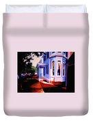 Side Street - Lambertville Duvet Cover