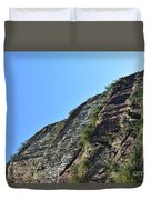 Sideling Hill Rock Duvet Cover