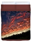 Sideways Sky Duvet Cover