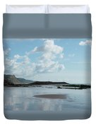 Sidmouth Beach Duvet Cover