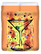 Sidzart Pop Art Martini This Is Sooo Mine Duvet Cover