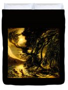 Siegfried And The Rhine Maidens Duvet Cover