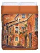 Siena Alley Duvet Cover