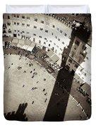 Siena From Above Duvet Cover