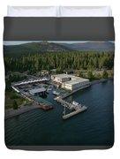 Sierra Boat Aerial Duvet Cover