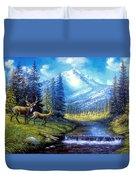 Sierra Mountain Meadow   Duvet Cover