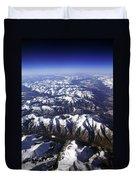Sierra Nevada Range Duvet Cover