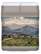 Sierra Nevada View Duvet Cover