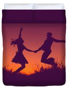 Sierra Sunset Duvet Cover