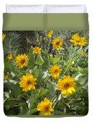 Sierra Wildflowers Duvet Cover